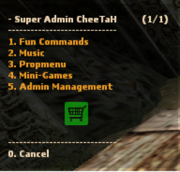 [Eventscripts] Super Admin CheeTaH - v2.0 для CSS Orange Box