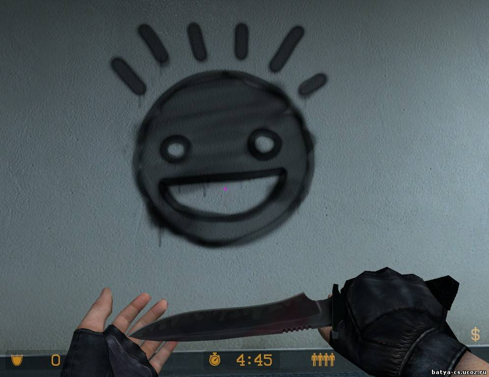 Спрей Smiley из CS 1.6  для Counter-Strike Source